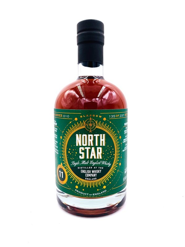 English Whisky 2007/2020 11 Jahre - Sauternes Barrel - North Star Spirits (NSS) - Cask Series 010