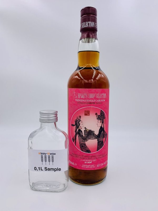 SAMPLE Caroni 1997/2017 - Rum - S-Spirits Shop Selection (Taiwan)