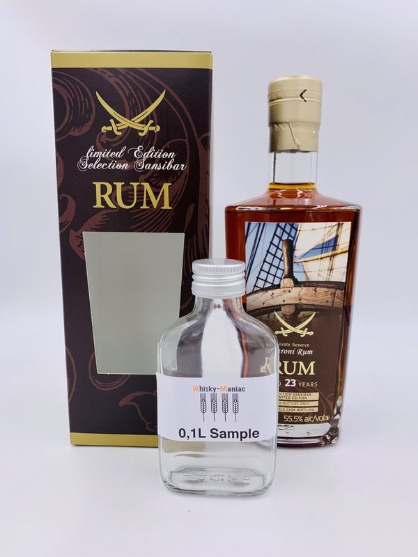 SAMPLE Caroni 1997/2020 - Rum - 23 Jahre - Sansibar Label
