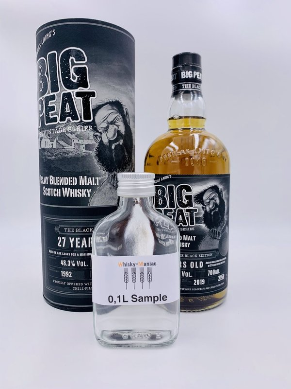 SAMPLE Big Peat 27 Jahre 1992/2019 - The Black Edition - Douglas Laing (DL)