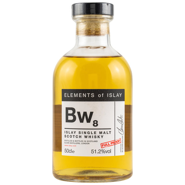Bowmore Bw8 Elements of Islay - ex-bourbon barrels and sherry butts