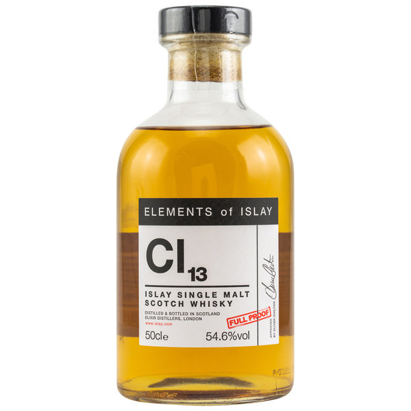 Caol Ila Cl13 Elements of Islay - ex-bourbon Hogsheads and Sherry butts