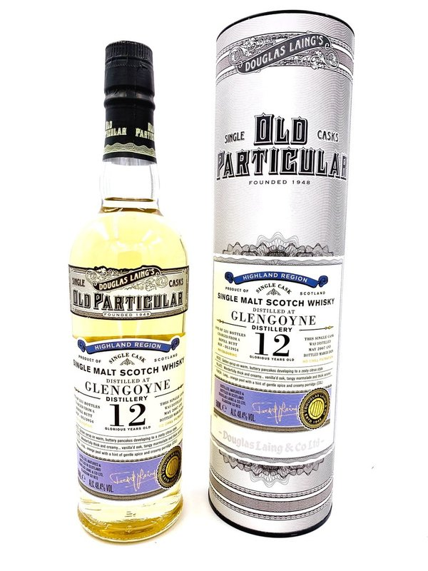 Glengoyne 12 Jahre 2007/2020 - Refill Sherry Butt - Old Particular - Douglas Laing (DL)