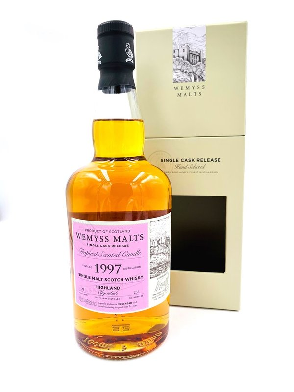 Clynelish 1997/2020 Wemyss Malts (Wy) - Tropical Scented Candle - 4th Club Release