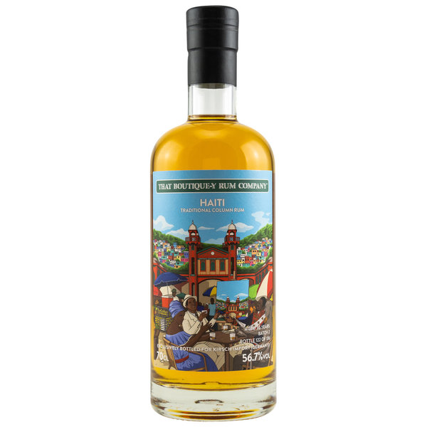 Haiti - Traditional Column Rum 16 y.o. - Batch 2 (That Boutique-y Rum Company) Kirsch Exclusive