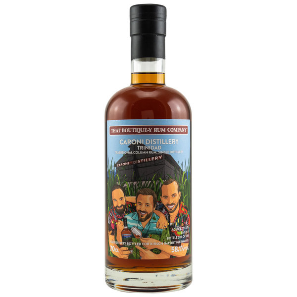Caroni - Traditional Column Rum 22 y.o. - Batch 4 (That Boutique-y Rum Company) Kirsch Exclusive