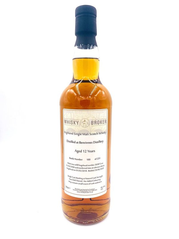 Benrinnes 2008/2020 - 12 Jahre - Oloroso Sherry HHD Finish - Whiskybroker (Whb)