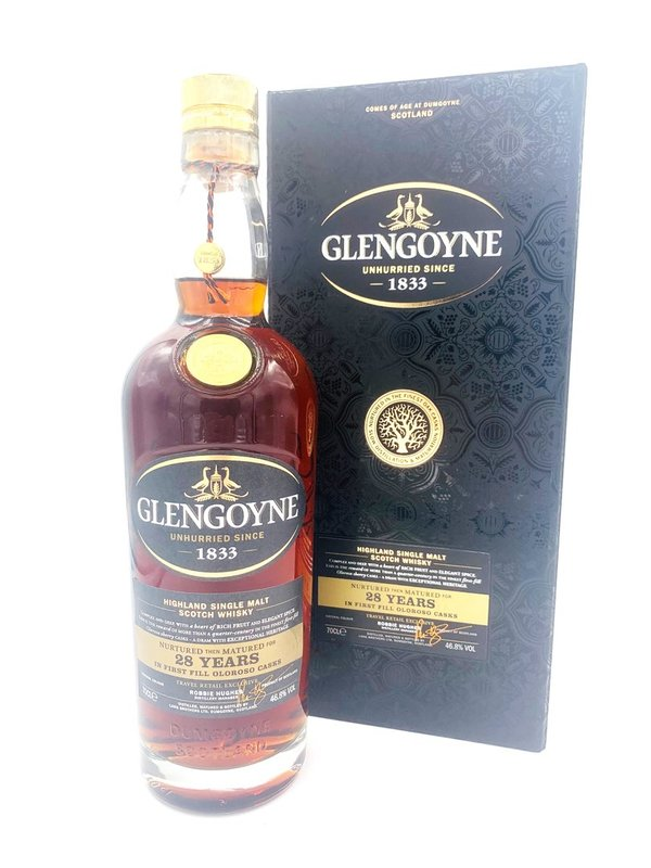 Glengoyne 28 Jahre - First Fill Oloroso Casks - Edition 2020