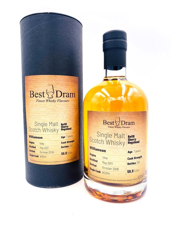 Williamson 2011/2018 - Best Dram (BD) - Refill Sherry Hogshead