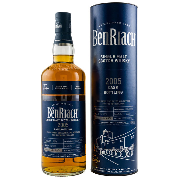 Benriach 2005/2020 - Oloroso Sherry Butt - Cask 2576 - The Netherlands Exclusive