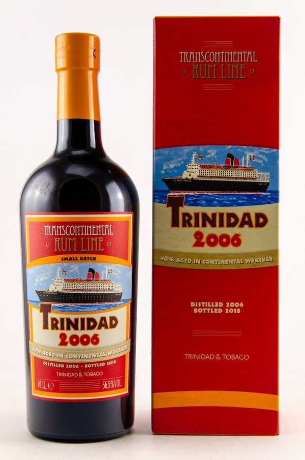 Trinidad 2006/2018 - 60% Tropical aged - Transcontinentel Rum Line