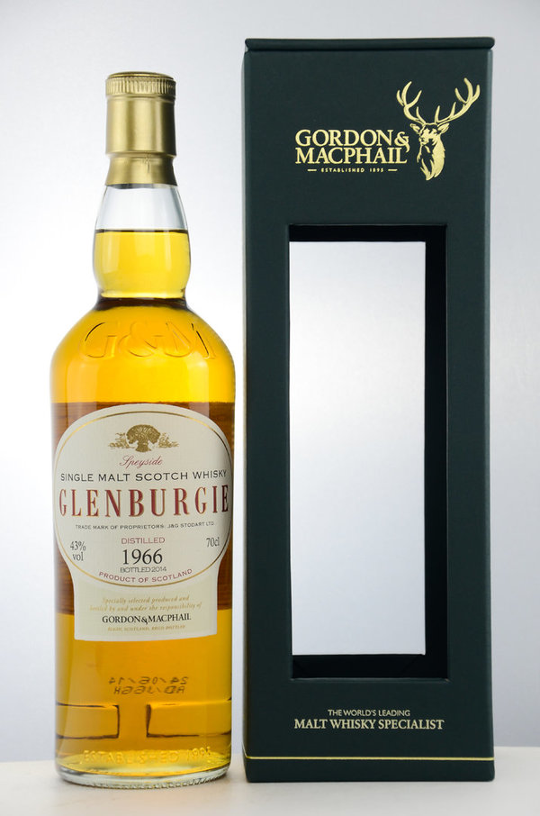 Glenburgie 1966/2014 Rare Vintage - First Fill Sherry Hogshead - Gordon & MacPhail (GM)