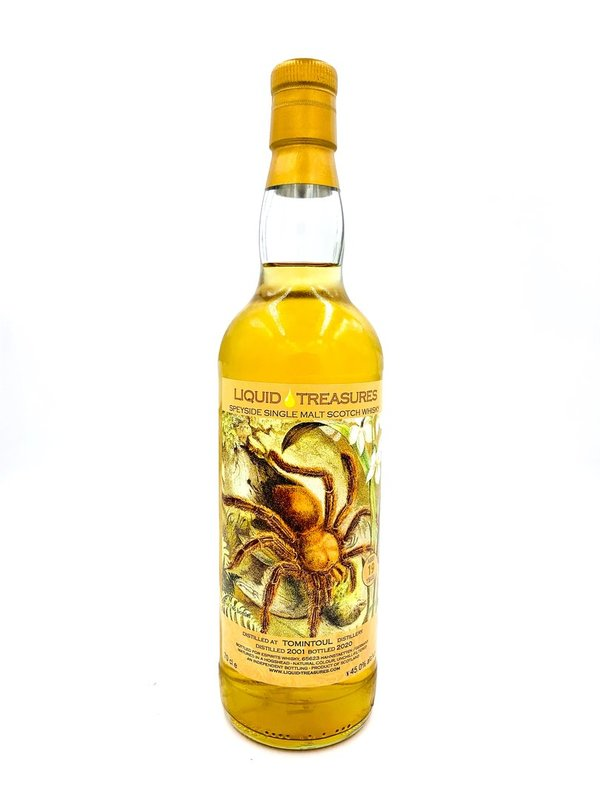 Tomintoul 2001/2020 Liquid Treasures (LT) - Bourbon Hogshead - Living World