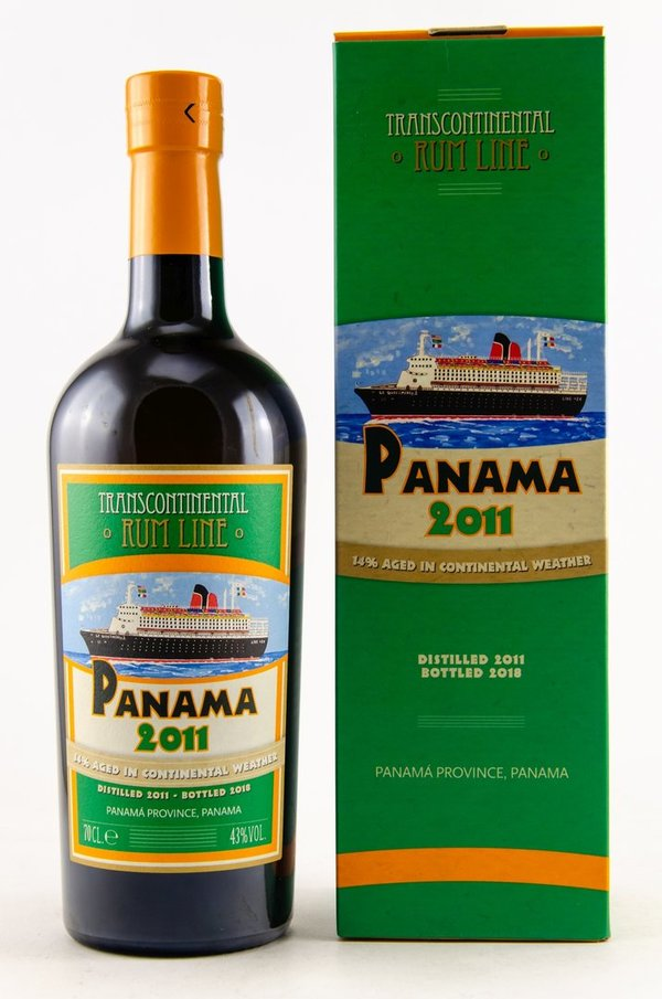 Panama 2011/2018 - 86% Tropical aged - Transcontinentel Rum Line