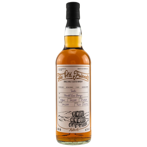 Tomatin 2011/2020 - Moscatel Roxo Barrique # 94 - The Old Friends (TOF)