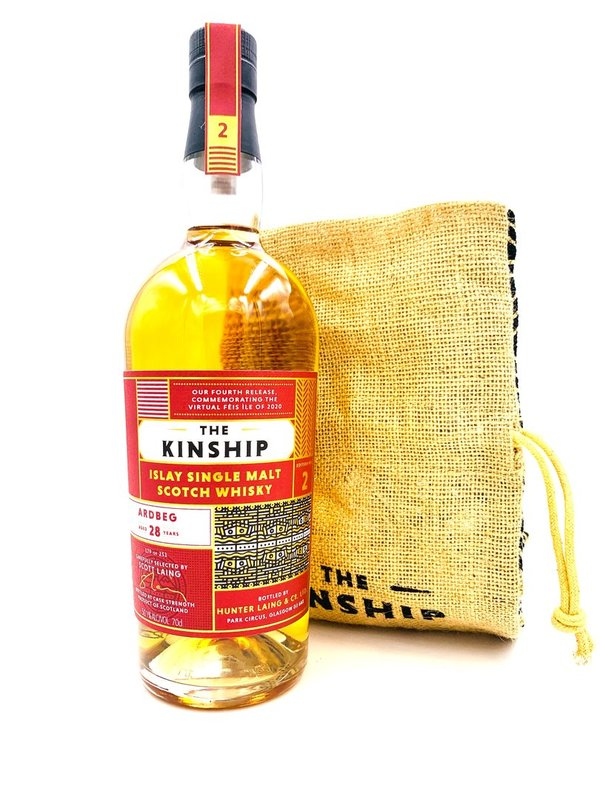 Ardbeg 1992/2020 - The Kinship Collection 4 - Hunter Laing (HL) - Refill Bourbon Hogshead