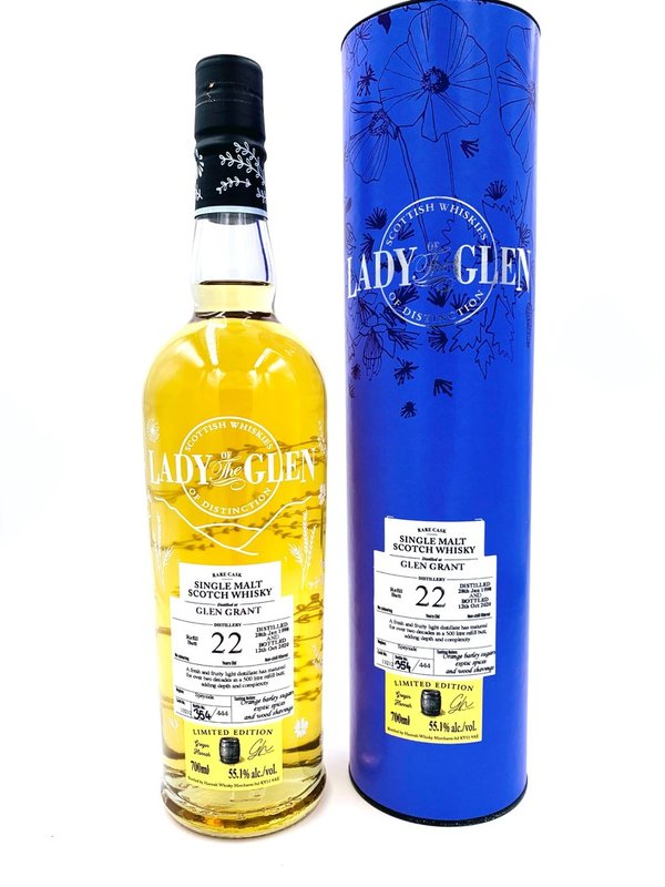 Glen Grant 1998/2020 - 22 Jahre - Refill Butt - Lady of the Glen (LotG) -