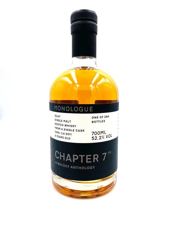 Caol Ila 2011/2020 - 9 Jahre - Bourbon Barrel 160 - Chapter 7 (Ch7)
