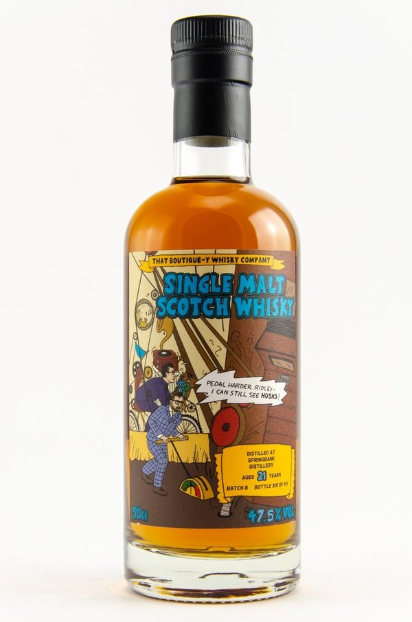 Springbank 21 y.o. - Madeira Casks - Batch 8 (That Boutique-Y Whisky Company)
