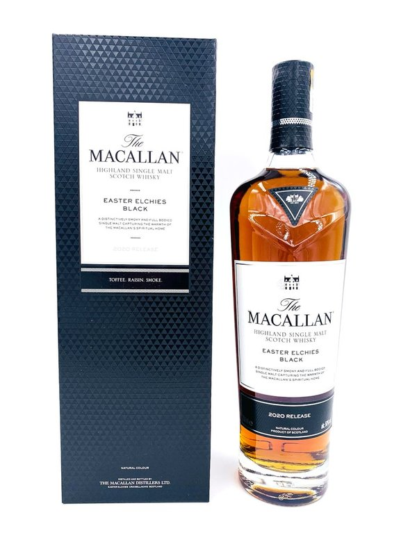 Macallan - Easter Elchies Black- Edition 2020