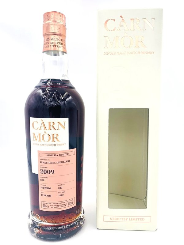 Strathmill 2009/2020 - 11 Jahre - STR Oloroso Sherry - Càrn Mòr (CM) - Strictly Limited Edition