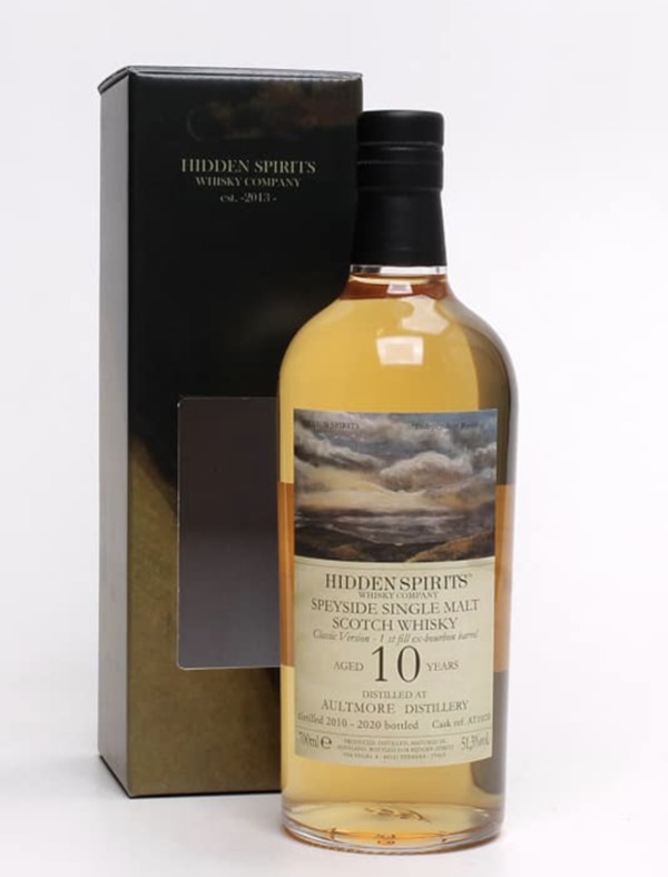 Aultmore 2010/2020 - Bourbon Barrel - AT1020 - Hidden Spirits (HiSp)