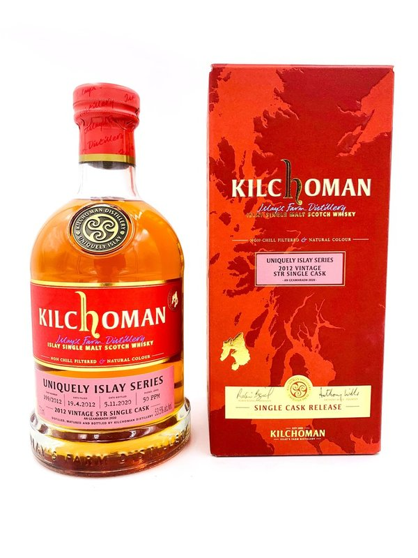 Kilchoman 2012/2020 - An Geamhradh #3 - Fresh Bourbon Barrel STR Redwine Cask Finish (14 Monate)