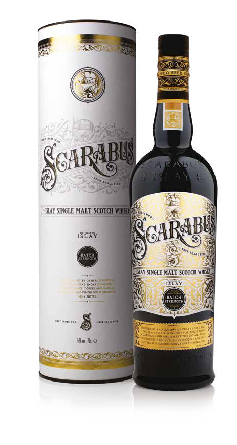 Scarabus - Islay Single Malt - Batch Strength - Hunter Laing