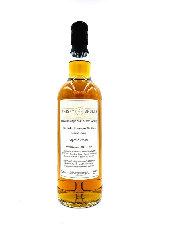 Glenrothes 1997/2020 - 23 Jahre - Sherry Butt + Oloroso Sherry Butt Finish - Whiskybroker (Whb)