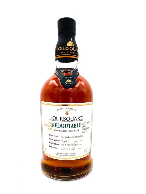 Foursquare Redoutable 14 Jahre ECS Mark XV - 15. Exceptional Cask Series
