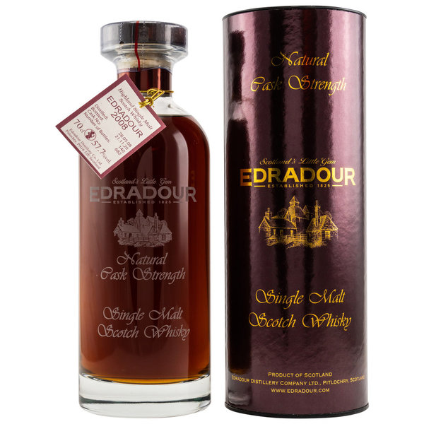Edradour 2008/2020 - Natural Cask Strength - #140- Ibisco Sherry