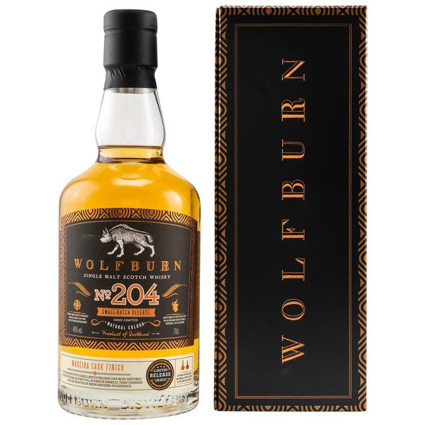 Wolfburn No.204 - 5 y.o. - 1st Fill Madeira Cask Finish - Small Batch Release