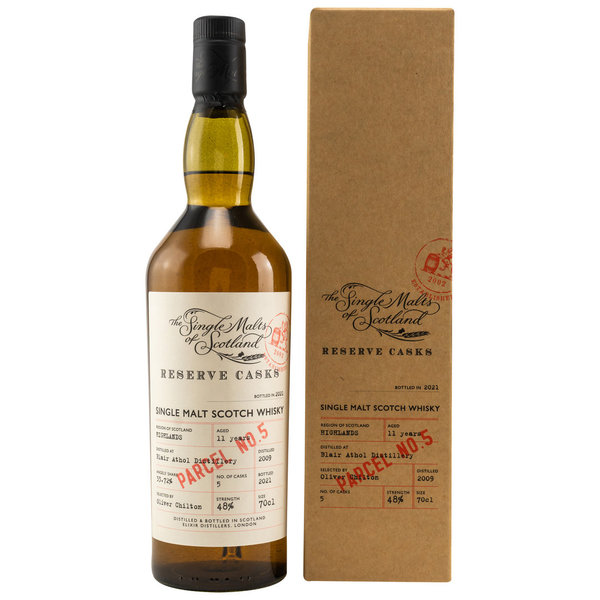 Blair Athol 2009/2021 11 y.o. - Parcel No. 5 - Single Malts of Scotland (SMoS) Reserve Cask