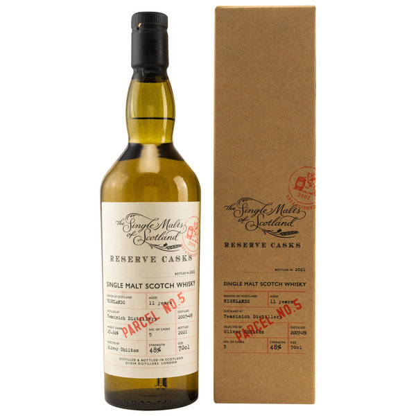 Teaninich 2007-2009/2021 11 y.o. - Parcel No. 5 - Single Malts of Scotland (SMoS) Reserve Cask