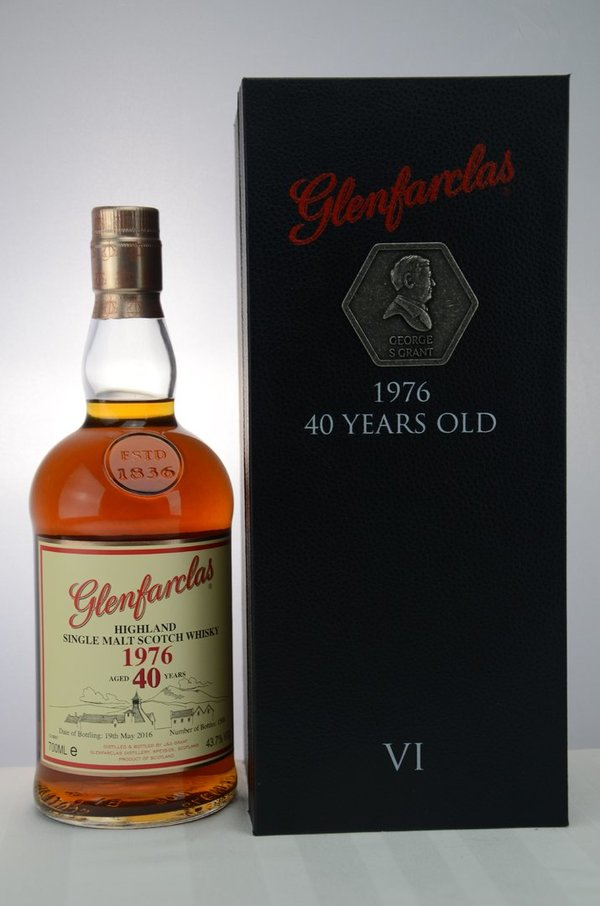 "Glenfarclas 1976/2016 - Sherry Casks - Family Collector Serie VI - ""George S. Grant"""