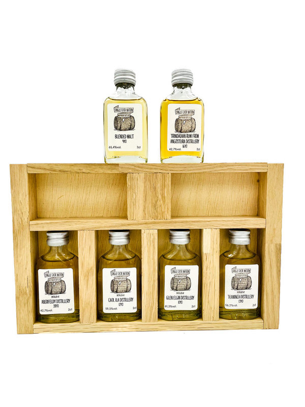 Single Cask Nation - Online Tasting Pack - 6x 2cl Sample - 05.05.2021